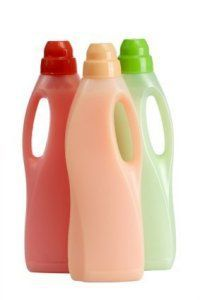 homemade fabric softener - vinegar, baking soda, essential oil, water