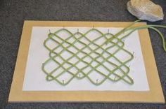 Rope Mat Instructions  Includes video, written instructions and template