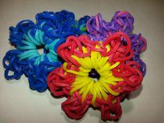 Stoneseed Flower Charm Tutorial for Rainbow Loom