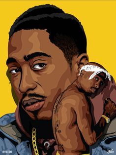 Tupac Shakur 2pac, Tupac Shakur, Arte Do Hip Hop, Hip Hop Art, Tupac Wallpaper, Tupac Art, Rapper Art, Black Cartoon, Best Rapper
