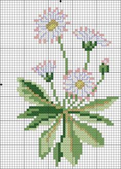Cross Stitching, Cross Stitch Embroidery, Cross Stitch Designs, Cross Stitch Patterns, Diy Fleur, Free Cross Stitch Charts, Stitch Cartoon, Hand Embroidery Videos, Sewing Art