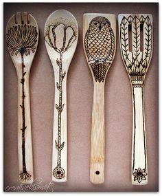 Wooden Spoons on Pinterest