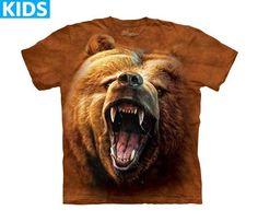 Bear T-Shirt | Grizzly Growl Kids