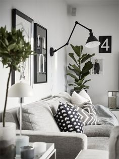 Une maison familiale en noir et blanc | PLANETE DECO a homes world