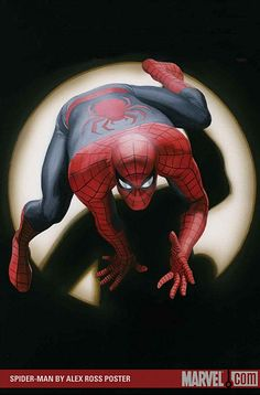 SPIDER-MAN POSTER, by Alex Ross.