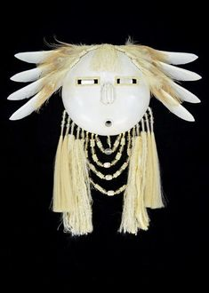 Black Eagle creates visionary masks as a contemporary statement of his warrior art. They are rooted in the traditions of… Native American Masks, Native American Pottery, Art Paintings For Sale, Original Paintings For Sale, Recycled Garden Art, Ceramic Mask, Black Eagle, Art Premier, Expressive Art