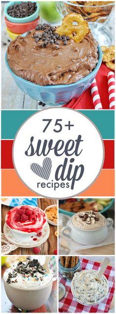 75 Sweet Dips