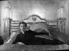 Stephen James Napier Tennant (21 April 1906 – 28 February 1987) was a British aristocrat known for his decadent lifestyle. It is said, albeit apocryphally, that he spent most of his life in bed.
