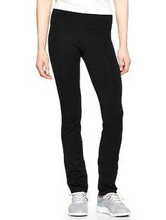 8826e3cba30543 GapFit slim straight cotton pants--bet these are super slimming! Cotton  Pants,