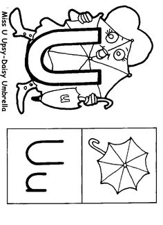 Miss alphabet coloring pages ~ Come and meet the Letter People | Preschool Projects ...