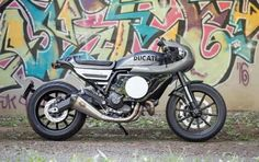 Ducati Scrambler Cafe Racer by Mr Martini #motorcycles #caferacer #motos | caferacerpasion.com
