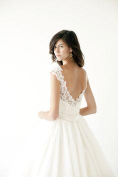 The prettiest of dresses. Chudleigh Photography for Salt Lake/Park City Bride & Groom // Modern Trousseau Dress