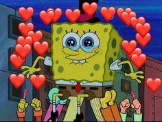 B ob esponja memes, memes Mood Wallpaper, Cartoon Wallpaper, Disney Wallpaper, Iphone Wallpaper, Spongebob Memes, Cartoon Memes, Cartoons, Spongebob Drawings, Heart Meme