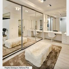 Corner Wardrobe Closet, Closet Bedroom, Bedroom Decor, Home Office Design, Home Interior Design, House Design, Luxury Closet, Minimalist Room, Dream Closets