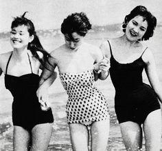 Japanese models, 1956 - via vintagegal