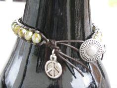 Single wrap bracelet by jewlsoflove on Etsy, $23.00