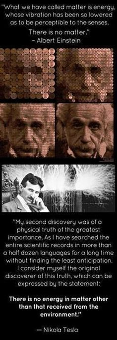 Nikola Tesla and Einstein Nicola Tesla, E Mc2, Quantum Mechanics, Quantum Physics, Law Of Attraction, Fun Facts, Knowledge, Facebook, Life