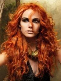 Modela tu Cabello: Tendencias color de pelo rojo 2012