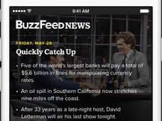 Now the BuzzFeed News app, released today in the App Store, wants to bring more of the site's news coverage into view.  You won't find any listicles when you open BuzzFeed's new app, which is designed to present the day's major news events as they happen. Today's top story in the app is the horrific Charleston church shooting that killed nine victims. Facts about the event are arranged into quick, easily digestible bullet points.