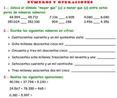 Cuaderno de Ejercicios de Matematicas para Quinto Grado de Primaria | Planeaciones Gratis Math 5, Math Class, Teaching Math, Spanish Classroom Activities, Math Activities, Maila, Elizabeth Gilbert, Arithmetic, Math For Kids
