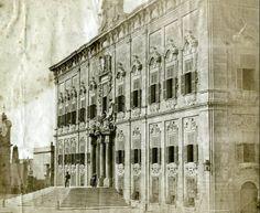 Auberge de Castille Valletta Malta 1854