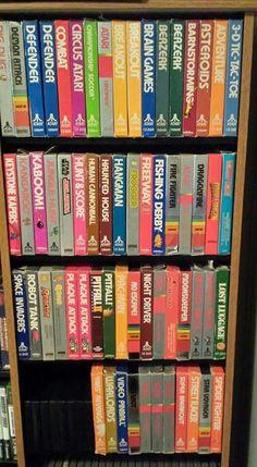 Atari Video Games, Fun Video Games, Computer Video Games, Vintage Video Games, Video Game Rooms, Classic Video Games, Retro Video Games, Vintage Games, Video Game Art