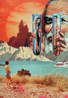 Deal Of Extinct Life. Surreal Mixed Media Collage Art By Ayham Jabr. Kunst Inspo, Art Inspo, Fantasy Kunst, Fantasy Art, Fantasy Life, Art And Illustration, Surrealist Collage, Psy Art, Collage Art Mixed Media