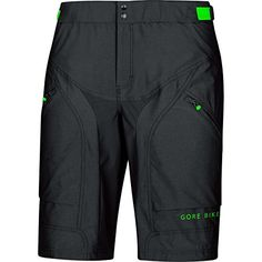 GORE BIKE WEAR Mens Padded Mountain bike shorts GORE Selected Fabrics POWER TRAIL Shorts Size S Black TPOWSH >>> You can find more details by visiting the image link.