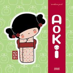 Kokeshi books by Annelore Parot
