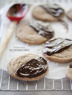 Chai Shortbread Cookies with Sea Salt - Chai Love would work perfectly in this recipe!