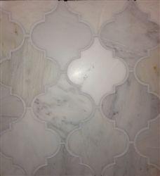 Arabesque tile - ooh so pretty for a bathroom