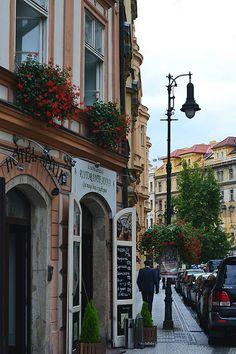Street in Prague, Czech Republic Prague Travel, Prague Czech, Czech Republic, Street View, Explore, Photo And Video, Photos, Pictures, Bohemia