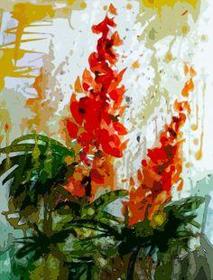 Lupines Art prints