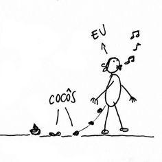 Cagando e Andando #MiniLivrinho