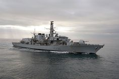 Royal Navy Type 23 frigate HMS Montrose.