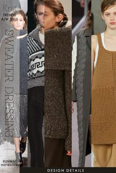Some of the design details for F/W 15-16 knitwear | DiaryofaCreativeFanatic