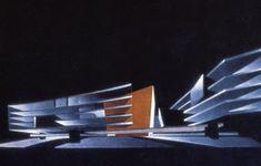 A GERMAN in WALES: Zaha Hadid - the tabula rasa architect