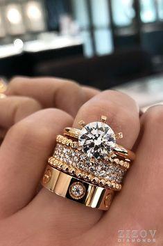 Naturel Noir Diamant 14K or Jaune Fait Main Poignet Bande Bague Bijoux 3-8US