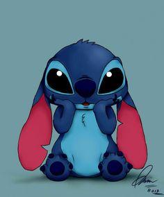 Stitch by nisazzz on DeviantArt Sting… Cartoon Wallpaper Iphone, Disney Phone Wallpaper, Cute Cartoon Wallpapers, Disney Stitch, Cute Disney Drawings, Cute Drawings, Disney Kunst, Disney Art, Lilo And Stitch Quotes