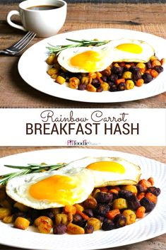 This Rainbow Carrot Breakfast Hash is the perfect low car/low FODMAP/low histamine alternative to potatoes! http://thefitfoodiemama.com/rainbow-carrot-breakfast-hash-low-fodmap-low-histamine/