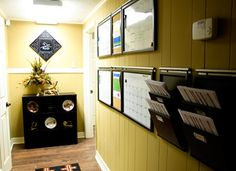 Office organization using the pottery barn daily system