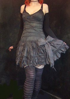 ♥ Going dystopian chic for BM this year. Torn, ripped, distressed and sexy!