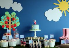 {Real Party} Jumping Up and Down in Muddy Puddles… – Part 2 | The Party Studio Blog