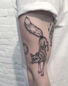 tattoo designs scottish tattoo designs beautiful fox sleeve tattoo ...
