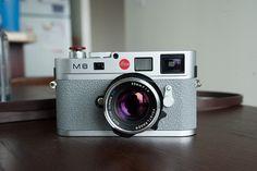 Leica M8 w/ Grey Griptac by Christopher Liando, via Flickr