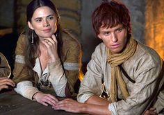 Hayley Atwell and Eddie Redmayne - The Pillars of the Earth
