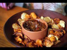 Chips de Batata Doce com Chutney de Manga - YouTube