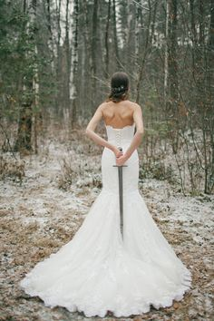 Game of Thrones wedding | Warmphoto | see more on: http://burnettsboards.com/2015/02/winter-coming-game-thrones-wedding/
