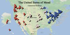 The United States of Mead - Commercial Meaderies in the US