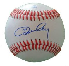 This is a Ron Cey autographed Rawlings official league baseball. Ron signed the ball in blue ballpoint pen. Check out the photo of Ron signing for us. Proof photo is included for free with purchase. Please click on images to enlarge. 1  Features:  • Member of the 1981 World Series Champions Los Angeles Dodgers  • Proof Photo of Ron Cey signing for us, will be included with purchase of this item  • 100% Guaranteed to Pass PSA/DNA Authentication  $49.99